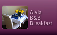 The Alvia Brighton Hotel & Brighton Bed and Breakfast, Breakfast information.